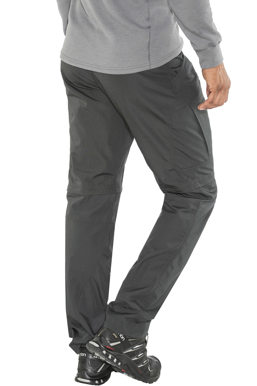52533d8c Lundhags Nybo ZipOff Pants charcoal | Gode tilbud hos addnature.no